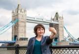 Londra capitale del selfie