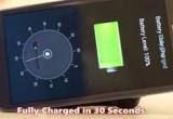 Ricarica cellulare in 30 secondi? Si può