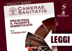 Policy Brief Camerae Sanitatis – Oncologia il paziente dimenticato